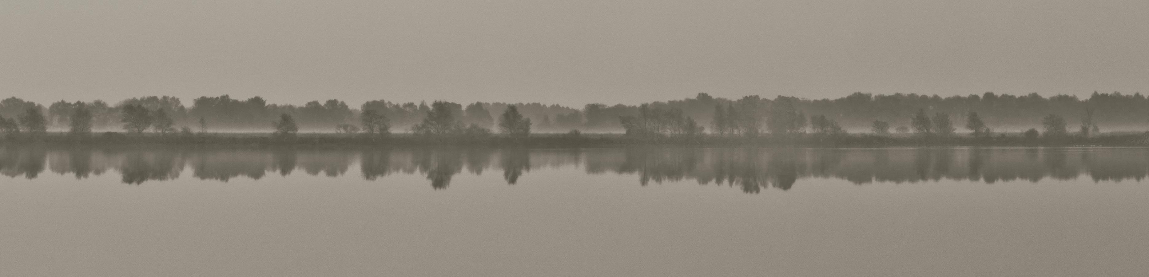 Landschaft Pigmentdruck auf Papier ca. 140x34cm, 2014